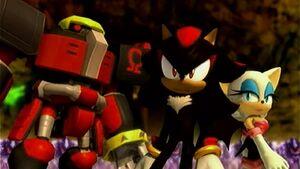 Team Dark VS Mephiles