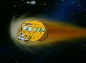 The Magic School Bus as a Comet