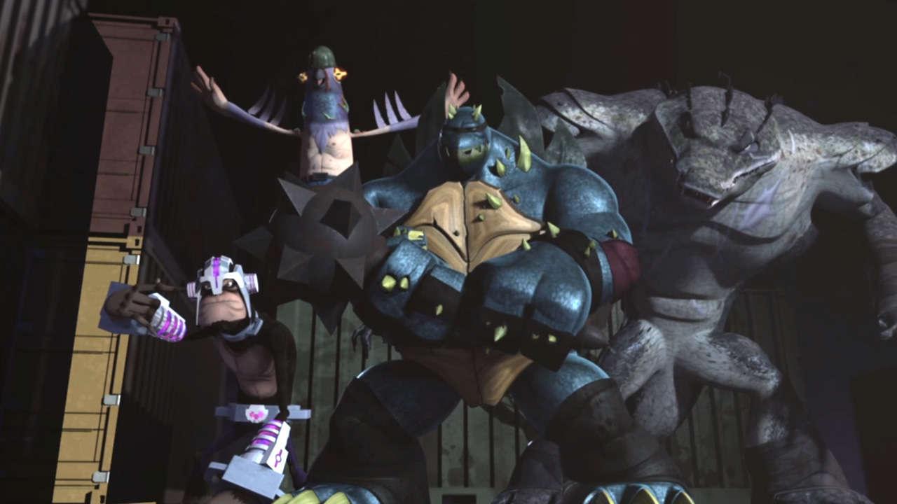 Mighty Mutanimals (TMNT 2012)