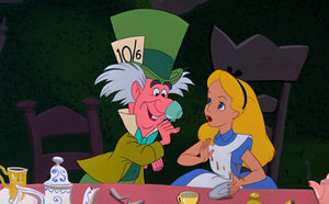 Alice with Mad Hatter