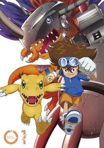 Digimon Adventure (2020) DVD Vol 1 - Tai and Agumon