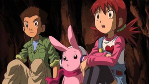 Angie, Cutemon and Jerm
