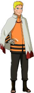 Boruto Naruto Uzumaki Render (with cloak)