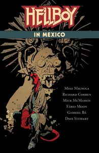 Hellboy In Mexico Cover