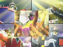 Optimus with Override, Scourge, Evac and Metroplex.jpg