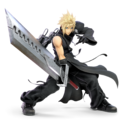 SSBU Advent Children Cloud