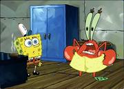 SpongeBob! Wash yer hands!!
