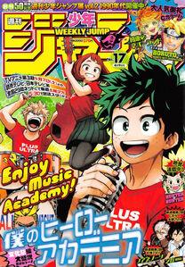 Weekly Shonen Jump No. 17 (2018)