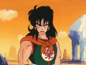 Yamcha talking to Goku