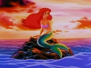 Ariel in the episode metal fish
