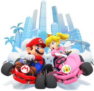 MKT Mario and Peach artwork