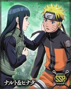 Naruto and Hinata Card 1