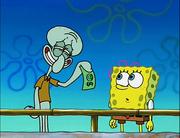 Squidward and SpongeBob (Clams)