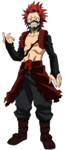 Eijiro Kirishima 3rd Hero Costume