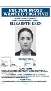 Elizabeth Keen Wanted Poster PNG