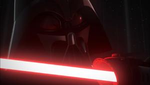 Vader upclose