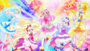 HUGtto PreCure Team Pose