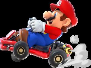 MKT Mario kart artwork