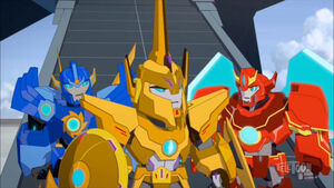 Buzzstrike, Windstrike and Lancelon