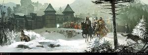 Jedruszek leaving Winterfell