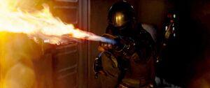 Mandalorian flamethrower pic