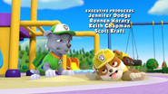 Paw Patrol Rocky and Rubble are Hot
