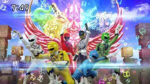 Doubutsu Sentai Zyuohger team