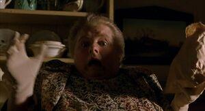 Esme Hoggett gasping