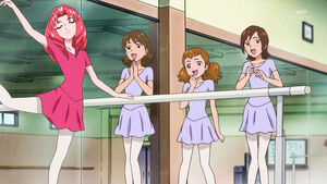 GPPC24 - Towa attends ballet class