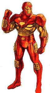 Iron Man in Marvel vs Capcom 2 New Age of Heroes