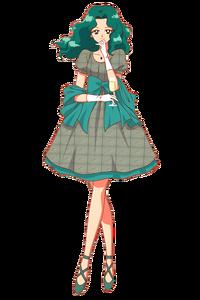 Michelle Kaioh grey dress