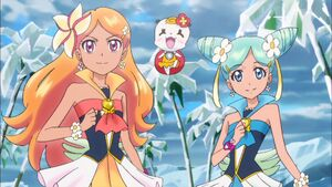 Alo-Ha Pretty Cure and Their Partner in Episode 28.jpg