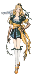 Castlevania - Maria Renard as she appears in Symphony of the Night