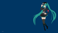Hatsune miku commander outfit by cahyovon-d8s4s5w