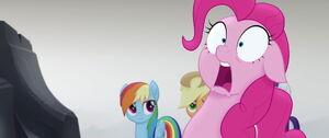 Pinkie Pie's shocked realization
