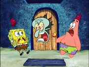 Spongebob, Squidward, & Patrick