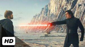 Star Wars The Last Jedi (2017) - Kylo Ren vs
