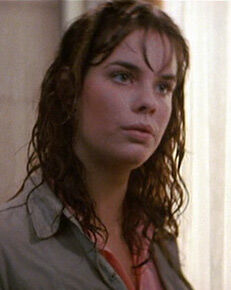 Alexandra Paul as Leigh Cabot in Christine 423