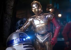 C-3PO red-arm