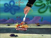 Krabs vs Hand