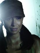 Christian Serratos as Rosita Espinosa in The Walking Dead 45