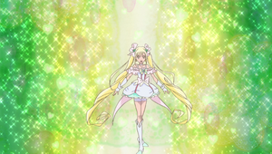 Cure Echo Pose Smiling Version
