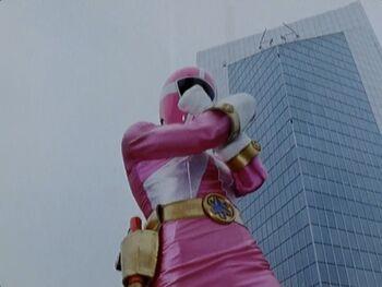 Pink Lightspeed Ranger