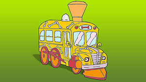 The Magic School Bus as a Train