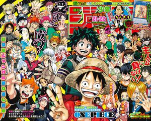 Weekly Shonen Jump No. 21-22 (2017)