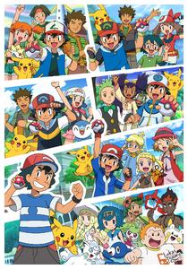 Years of the Pokémon Anime by Lukas Thadeu