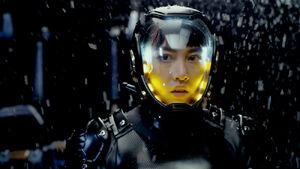 Rinko Kikuchi as Mako Mori in Pacific Rim 354