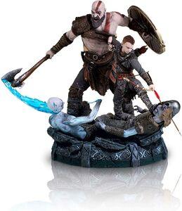 Kratos-and-Atreus-Statue