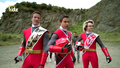Power Rangers Ninja Steel Red Rangers