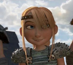 Astrid smiling